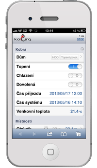 Kobra pro iphone, android, blackberry